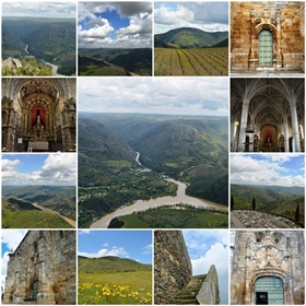 Douro Valley  Rustic land with 8.620m2 at 2 Km from the village of Mazouco, overlooking t