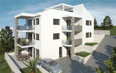 Attractive apartments with sea view- New building