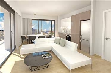 New built Apartments Located between the cultural center of the historic city of Athens in the cosmo
