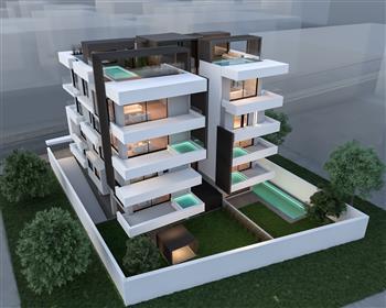 2 bedrooms Duplex apartment with pool in Varkizia