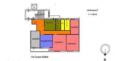 Appartamento via Cesare Battisti 127, Lecce