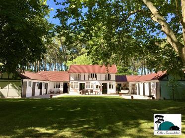 Immobilier de prestige : propriété historique de 276 m²  à Mimizan