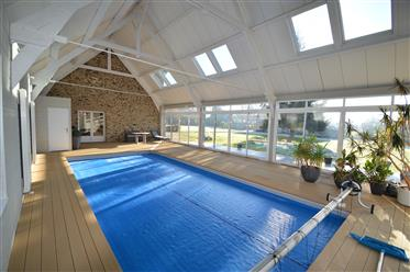 16th century manor house in perfect condition with swimming pool