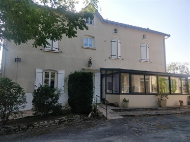 Limousine farmhouse with outbuildings, garden, woods and adjoining land