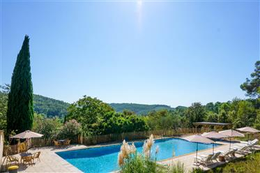 Entrecasteaux - An exceptional property for sale, a stunning domain of about 8 hectares that consist