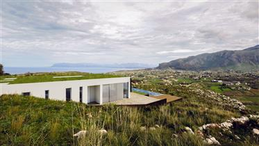Castellammare del Golfo, Contemporary Design Villa in Scopel...