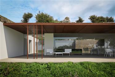 Castellammare del Golfo, Design Villa Immersed in Olive Grove in Scopello