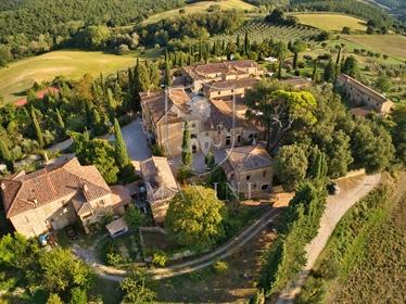 Castello di 2650 m2 a Asciano
