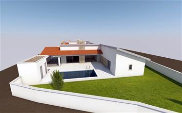 New build 3 bedroom villa close to Alcobaça.