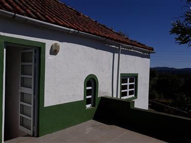 Une maison portugaise typique et caractéristique.