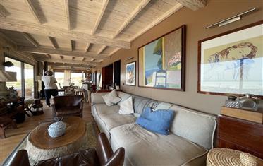 Oak frame house, sea view, swimming pool