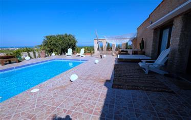 Vente villa vue mer, 3 chambres, piscine Sidi Kaouki