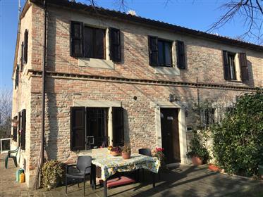 Casa con giardino Monteciccardo