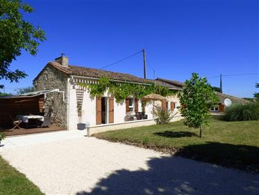 Lovely holiday or retirement home on the edge of a small village in the Southern Perigord