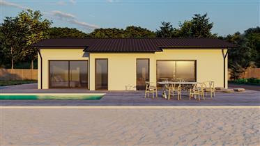 Amazing new bio-villa with sea view