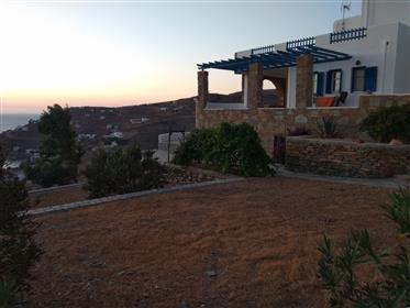 Aegean sea retreat - isolated island mansion near Athens