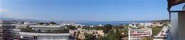 Studio cabine vue mer panoramique Mas de Tanit Antibes Juan les pins