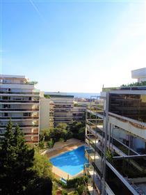 Appartement 2 pièces sud vue mer - Mas de Tanit Juan les pins