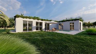 New bioclimatic villa with sea view