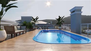 Financing Penthouse 3Dorm 600mt Sea Ingleses Beach-FLORIANÓPOLIS-BRAZIL