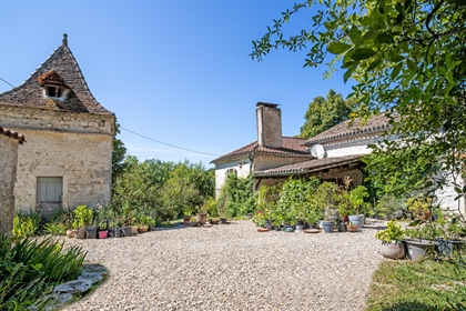 Country stone property with pool, barns and pigeonnier with no close neighbours. Interior ...