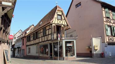 Exclusive! Unique Alsatian house nestled in a quaint Wine Route village.