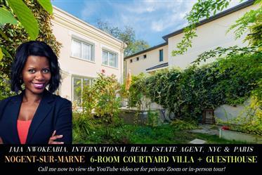 Contemporary Villa, Guest House, Garden, Near Paris