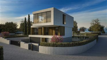 Modern villa in luxury resort