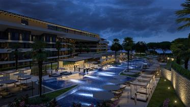 Beautiful apartment in luxury resort