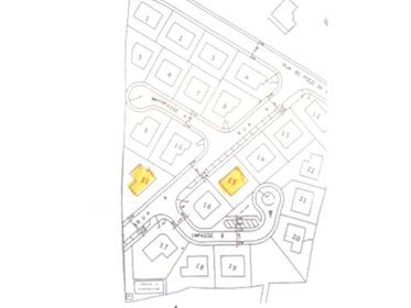 Lote de terreno para construção de moradia unifamiliar.