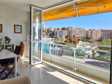 Spectacular apartment facing the sea