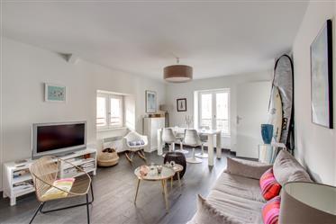 Appartement 2 pièces dernier étage Biarritz centre