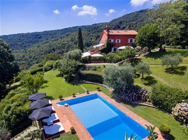 Maravillosa villa rural en toscana