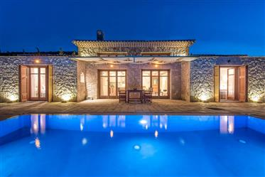 Complex of 2 traditional stone villas in Zakynthos on a plot 8.180 sqm for sale