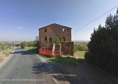 Montepulciano à vendre ferme entièrement restaurée de 600