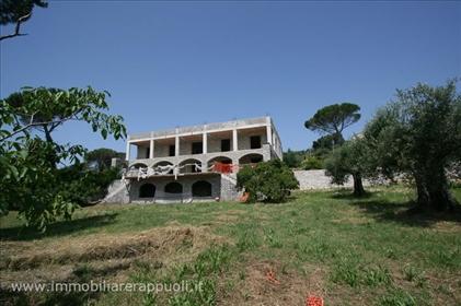 Tuoro sul Trasimeno en vente dans une vue panoramique sur