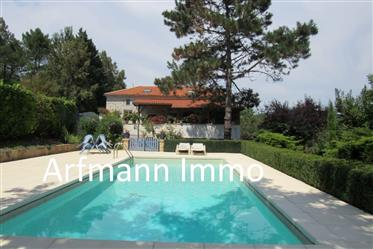 3 bed stone property with pool and garden