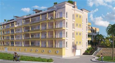 Im Bau befindliche Apartments im Zentrum von Lagos