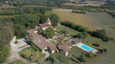 Chartreuse Du Xviii°  de 800m2 - Tout Confort - Hauteur Avec Vue- Parc Centenaire De 10Has - Dépenda