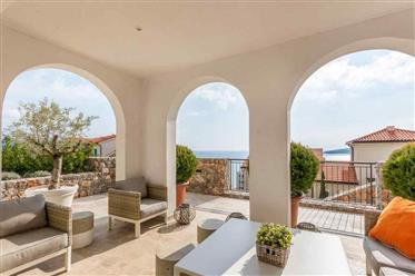 Luxury apartments in the elite complex Lustica Bay