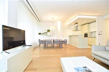 Apartment in an elite complex on the first line of Dukley Gardens