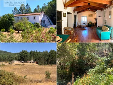 For sale fantastic property with 39 ha (390,000 m2) in a valley with lots of water, stream, hole, we