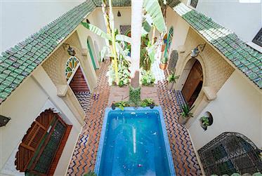 Vente riad exceptionnel Médina Marrakech