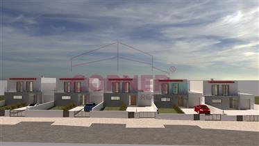 Moradia T3 em fase de construção