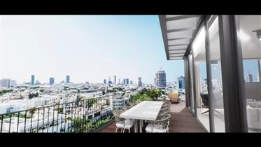 One of A kind !! Center Tlv Penthouse For Sale _ All on One level