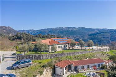 Magnificent mansion in the lands of Alto Minho, betoverend