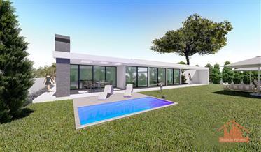 Moradia t3, com piscina - Em Projeto