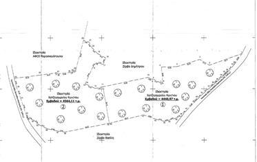 Two consecutive plots for sale in Petalidi, Messinia, Kastania area