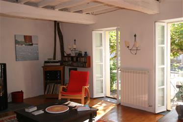 Immobilier Tarn. Maison de village de 270 m² de Sh restaurée...
