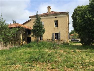 Sud Gers,côté Toulouse 55 mn; 20km de Lombez;Vue campagne
